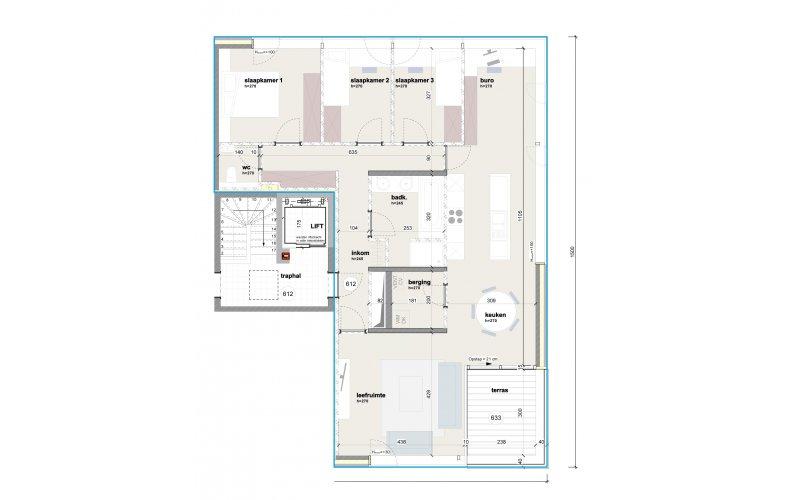 Appartement 3 slaapkamers | Van Roey Vastgoed